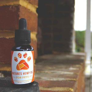 Nature's Hemp Oil CBD oil for pets