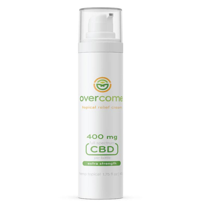 Overcome Topical Relief Cream (formerly Nature's Hemp Oil)