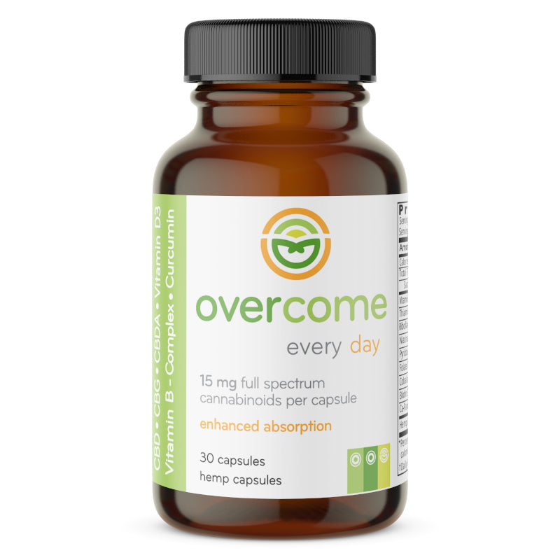 Overcome Every Day - 30ct - 15mg per capsule