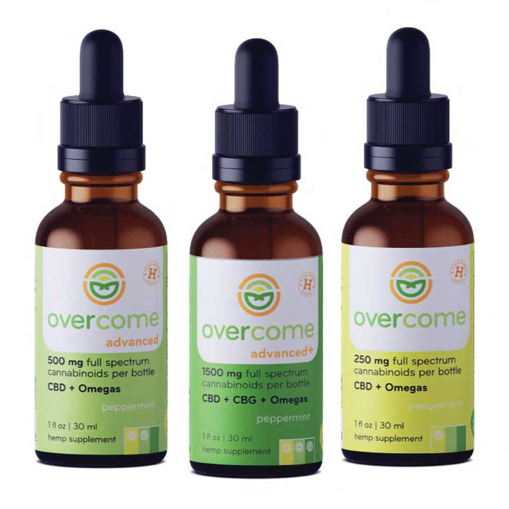 Overcome CBD Oil (formerly Nature's Hemp Oil)