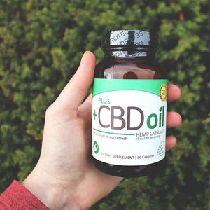 Plus CBD Oil Green Capsules 15mg CBD