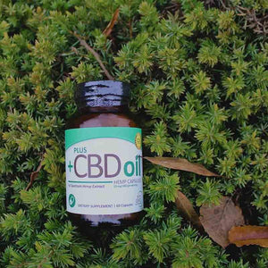 Plus CBD Oil 15mg Green Capsules