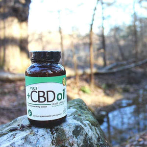 Plus CBD Oil Green Capsules
