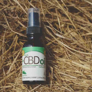 Plus CBD Oil 100mg Peppermint Spray