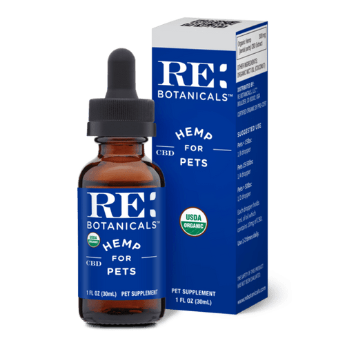 RE Botanicals Pet CBD Oil Tincture