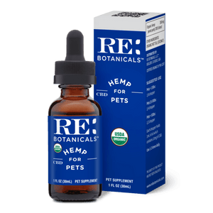 RE Botanicals Pet CBD Oil Tincture – USDA Organic