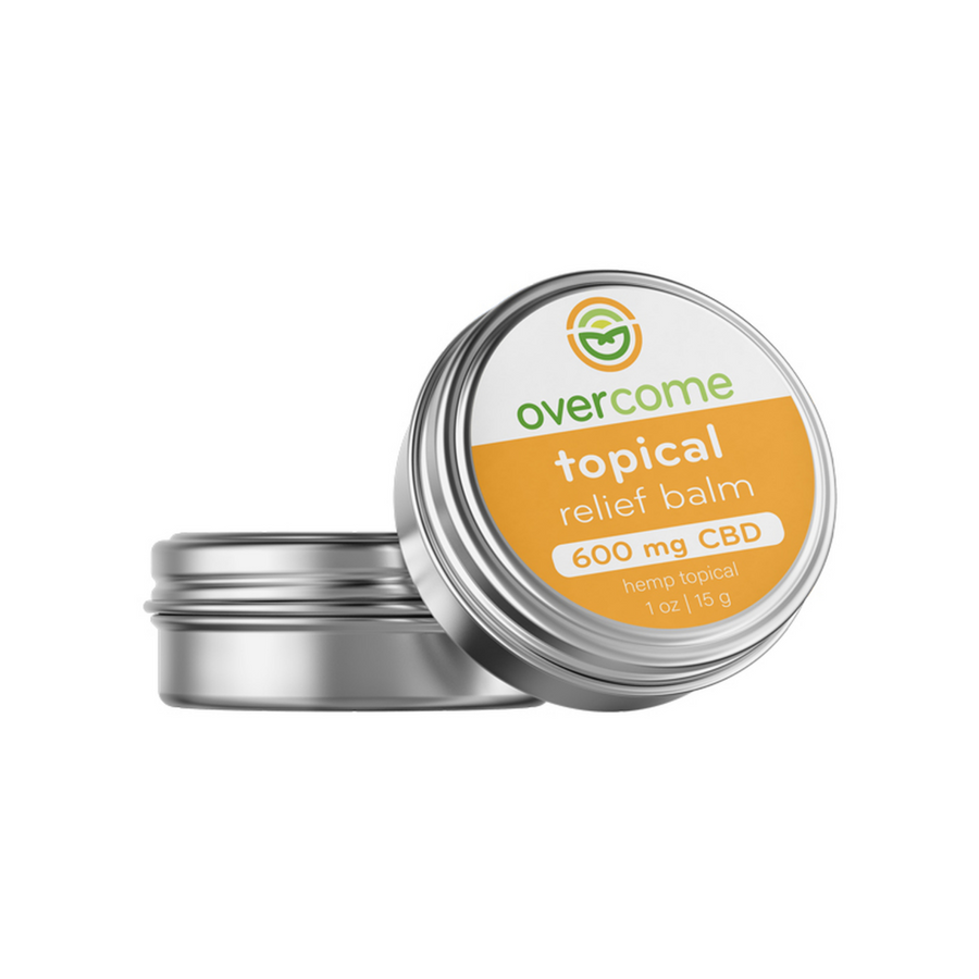 Topical Relief Balm - 600mg Full Spectrum CBD Salve