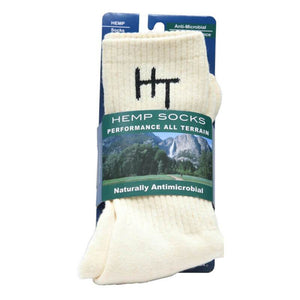 HempTopia Hemp Socks White