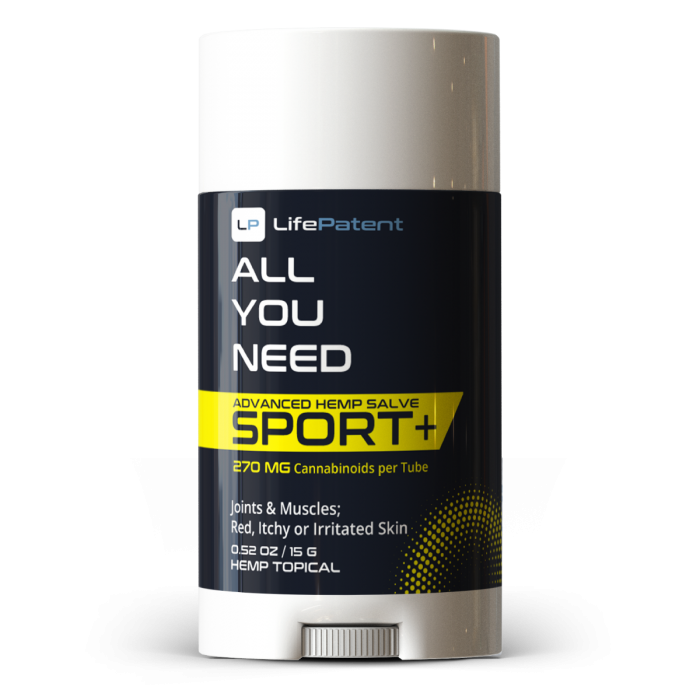 Life Patent All You Need Sport CBD Topical – 270mg of CBD