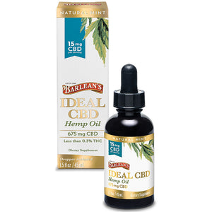 Barlean's Ideal CBD Hemp Oil - 15MG