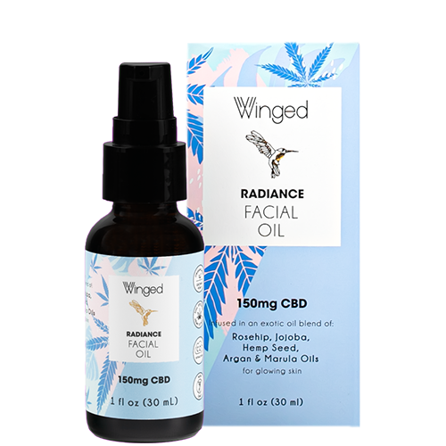 Radiance Facial Oil 150mg CBD
