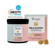 Winged Relaxation CBD Gummies - 10mg per serving
