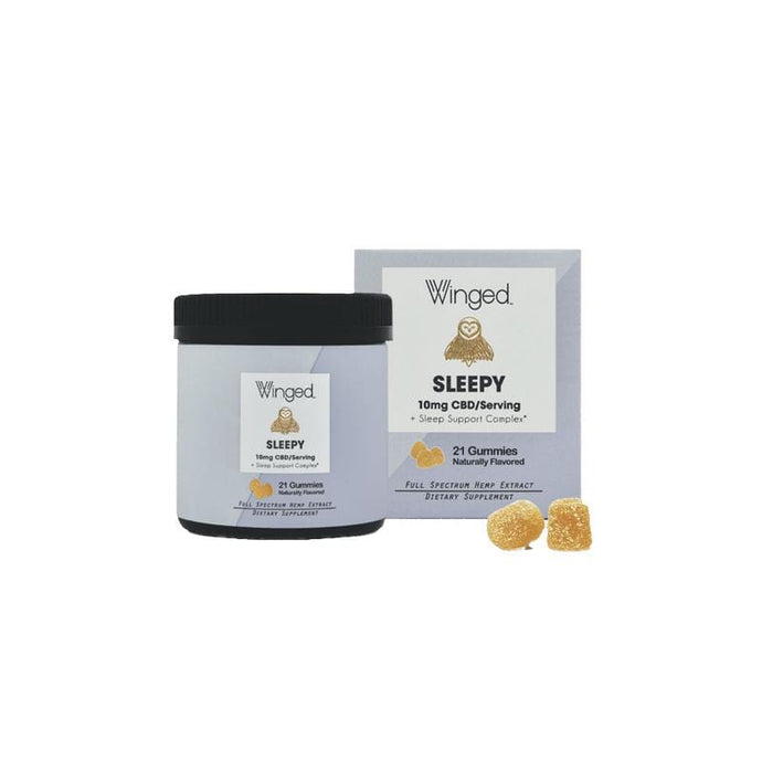 Winged Sleepy CBD Gummies - 10mg per serving