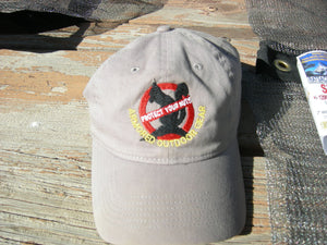 "Armored Outdoor Gear Cap: Ratsack Logo with ""Protect Your Nuts"" banner"