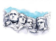 Mt. Rushmore Art
