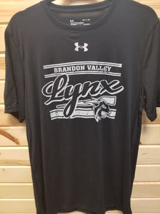 Under Armour Black Short Sleeved Tee