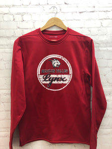 LYNX Sport Crew Sweatshirt- Red