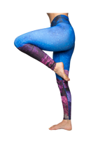 Side View of Star Yoga Pants