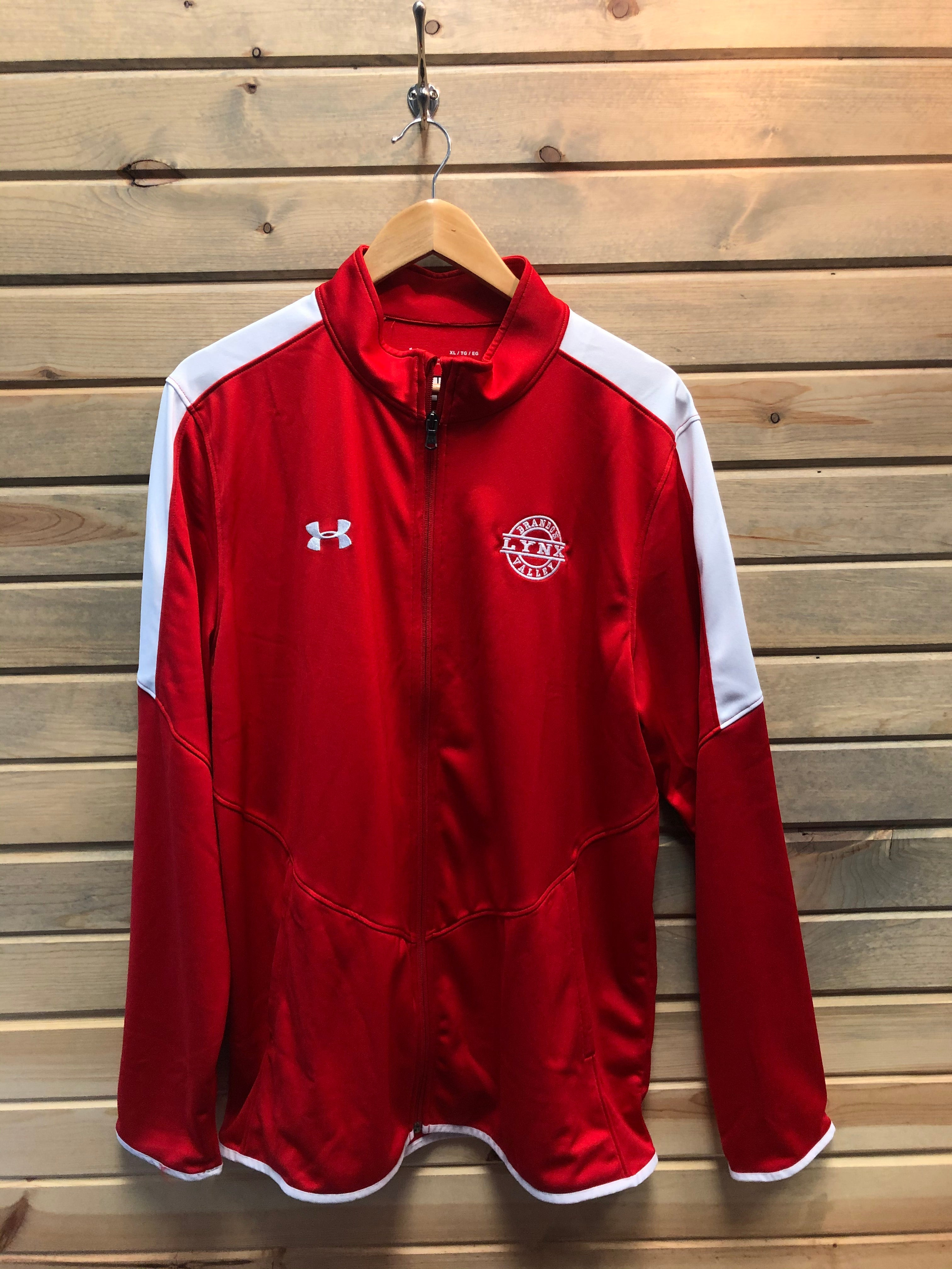 Under Armour BV Zip up Red Track Jacket