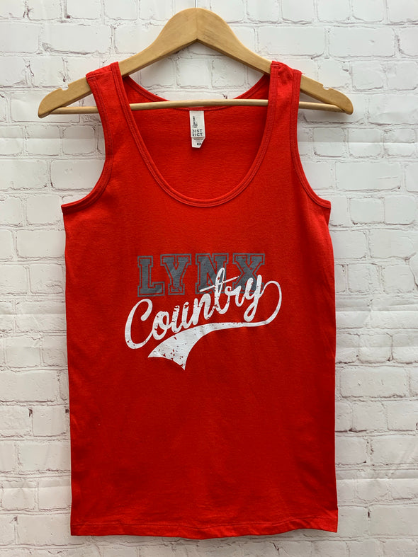LYNX Country Tank - Red