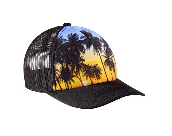 Snapback Palm Trees Trucker Hat