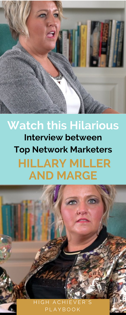 Top Network Marketer (Hillary Miller) Interviews Industry Legend (Marge) mlm marketing, high achievers playbook