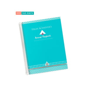 Annual High Achievers Playbook (Robins Egg Blue)