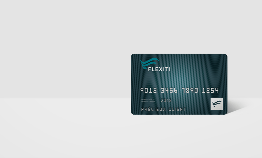 Carte Flexiti mobile