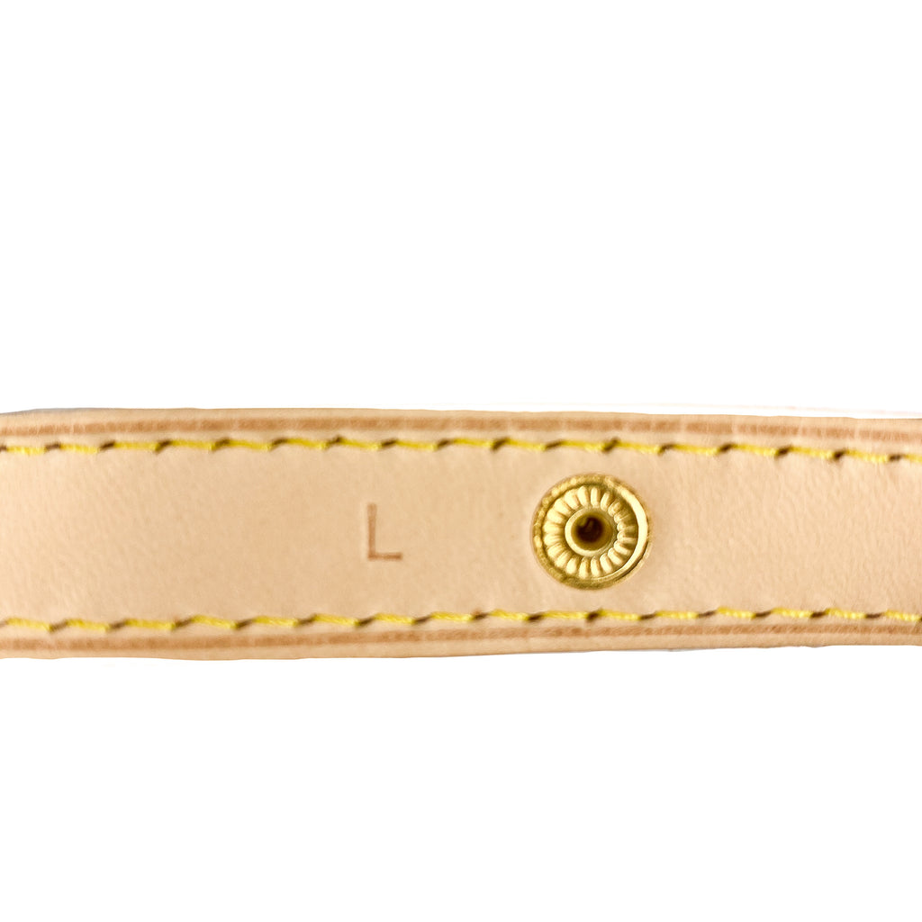 Louis Vuitton Vachetta Belt Strap