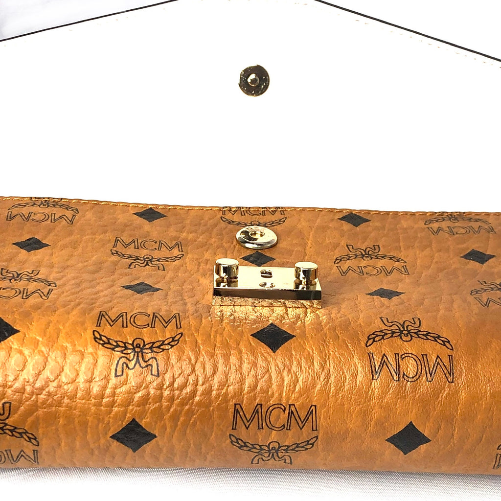 MCM Millie Monogram Leather Crossbody Bag