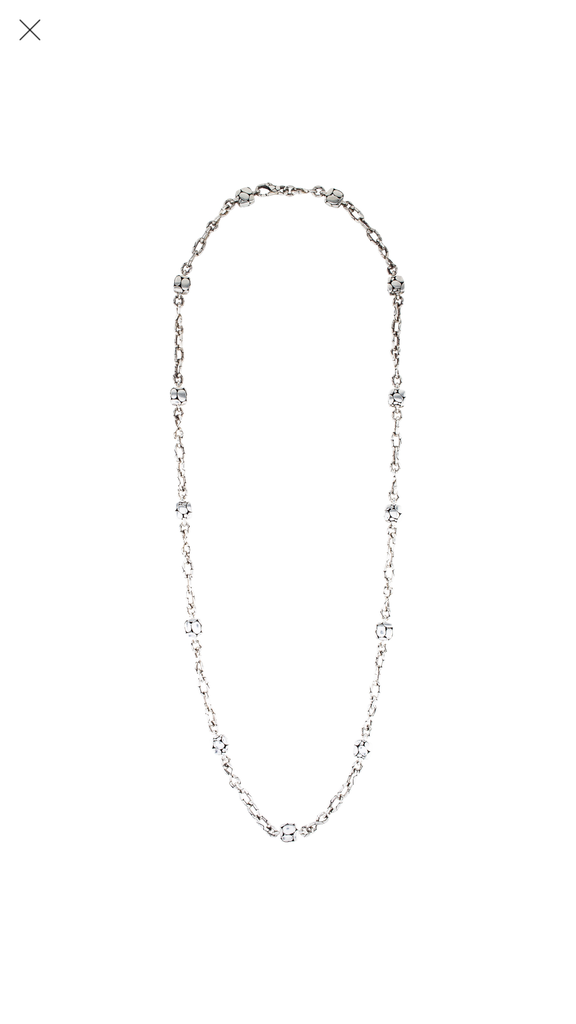 John Hardy Long Kali Square Station Necklace
