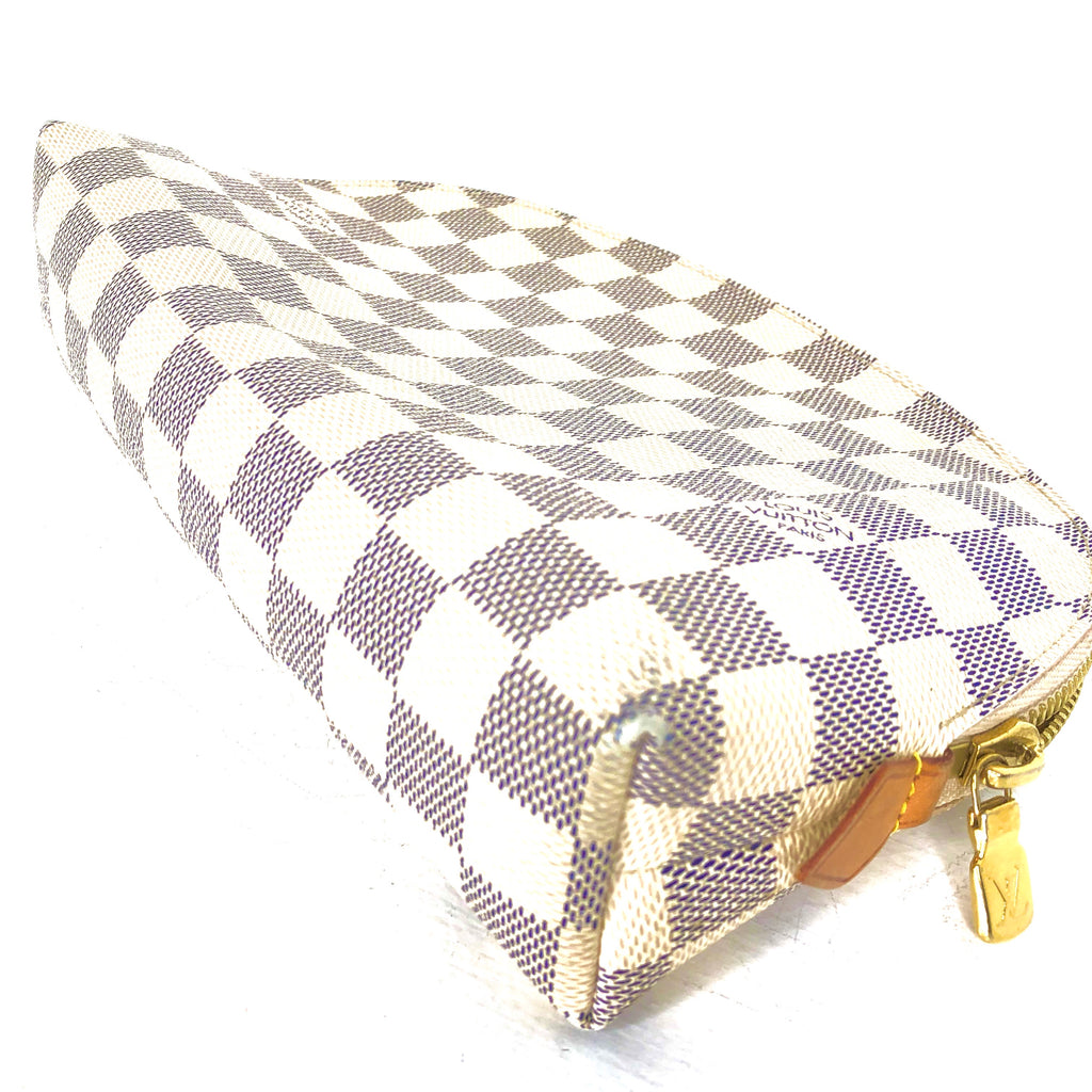 Louis Vuitton Damier Azur Cosmetic Pouch