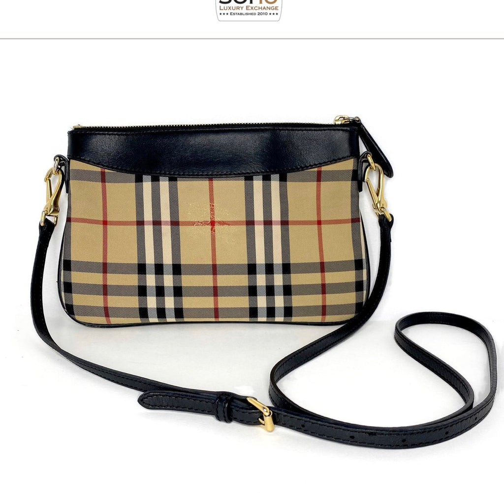 Burberry Haymarket Check Peyton Crossbody