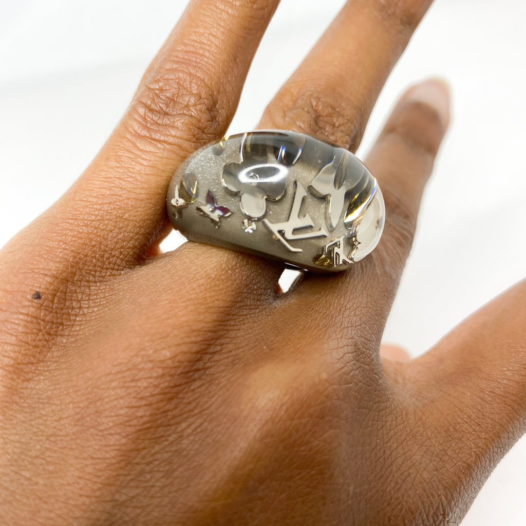 Louis Vuitton Inclusion Dome Ring