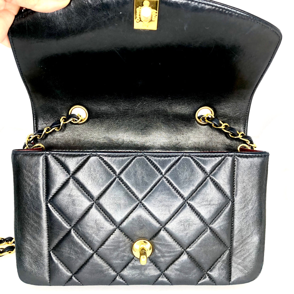 Chanel Vintage Diana Small Flap Bag