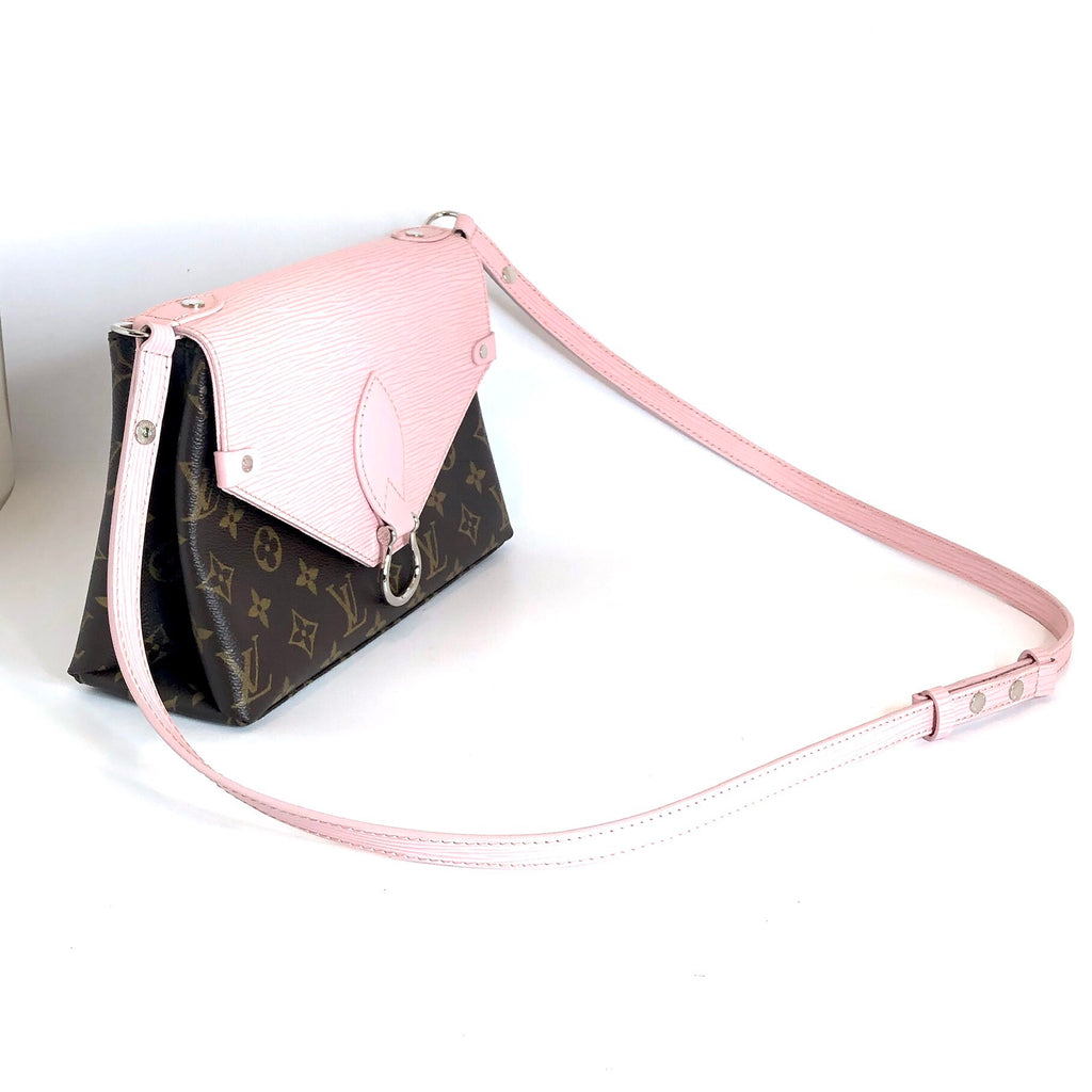 Louis Vuitton Monogram Epi Rose Ballerine Saint Michel - Like New