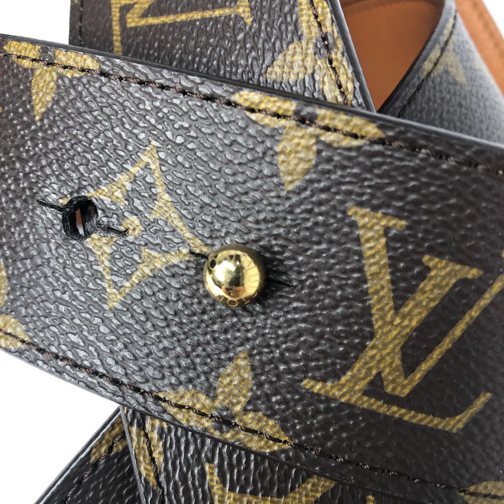 Louis Vuitton Monogram Tie The Knot 45mm Reversible Belt