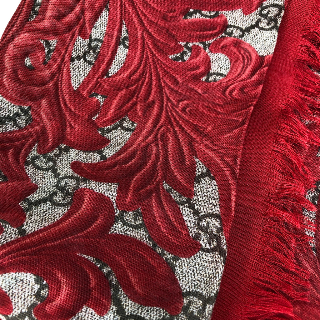 Gucci Arabesque GG Shawl Scarf