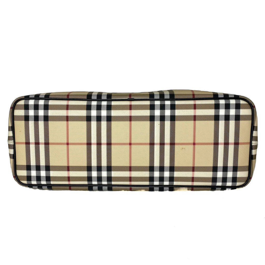 Burberry Nova Check Shopper Tote