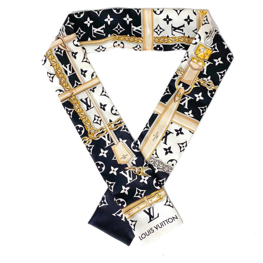 Louis Vuitton Silk Bandeau Scarf