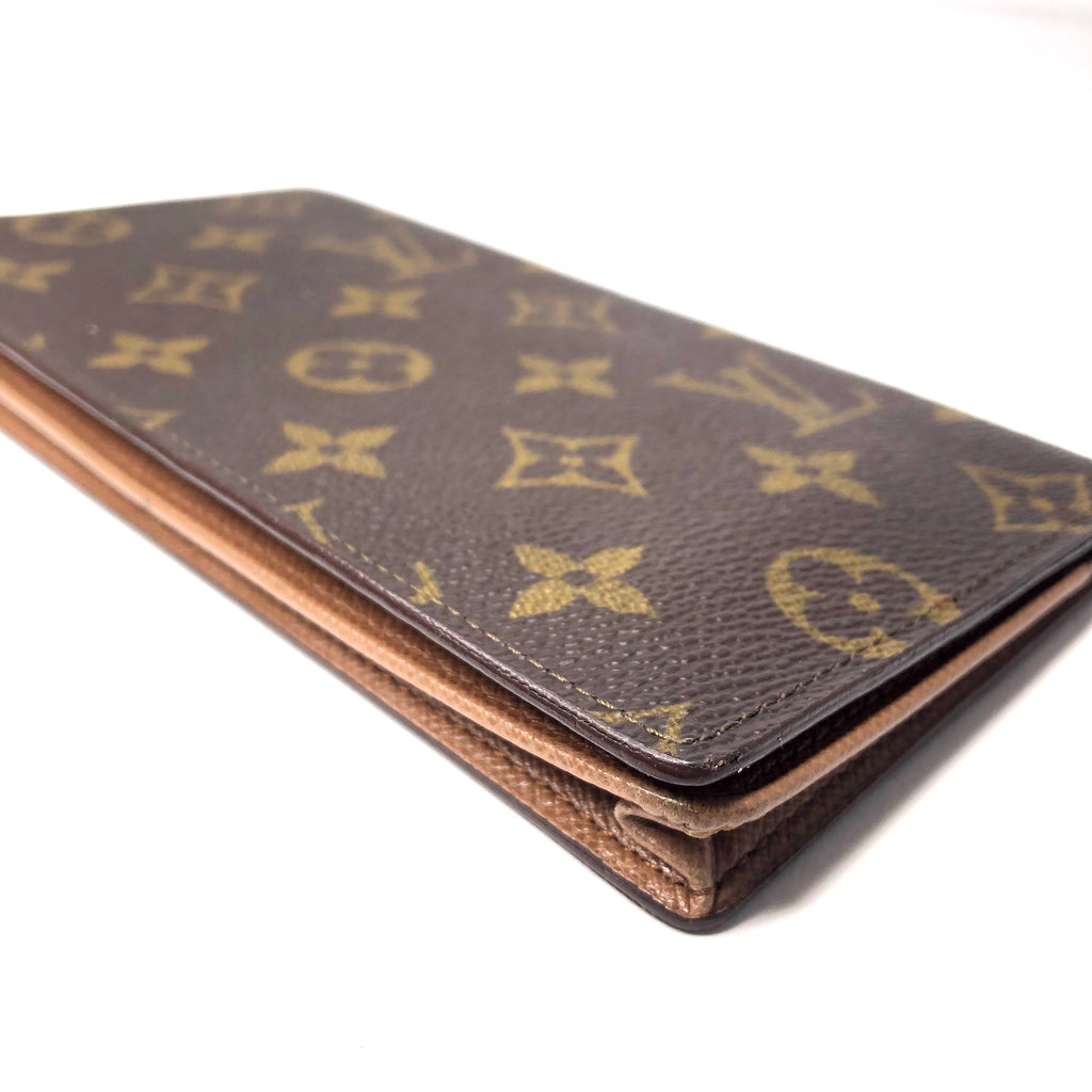 Louis Vuitton Monogram Checkbook Card Wallet
