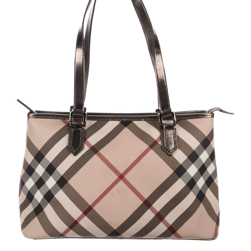 Burberry Super Nova Check Tote
