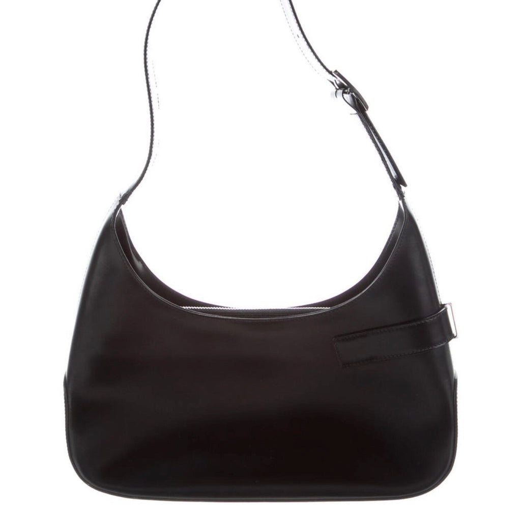 Salvatore Ferragamo Gancino Smooth Leather Mini Hobo
