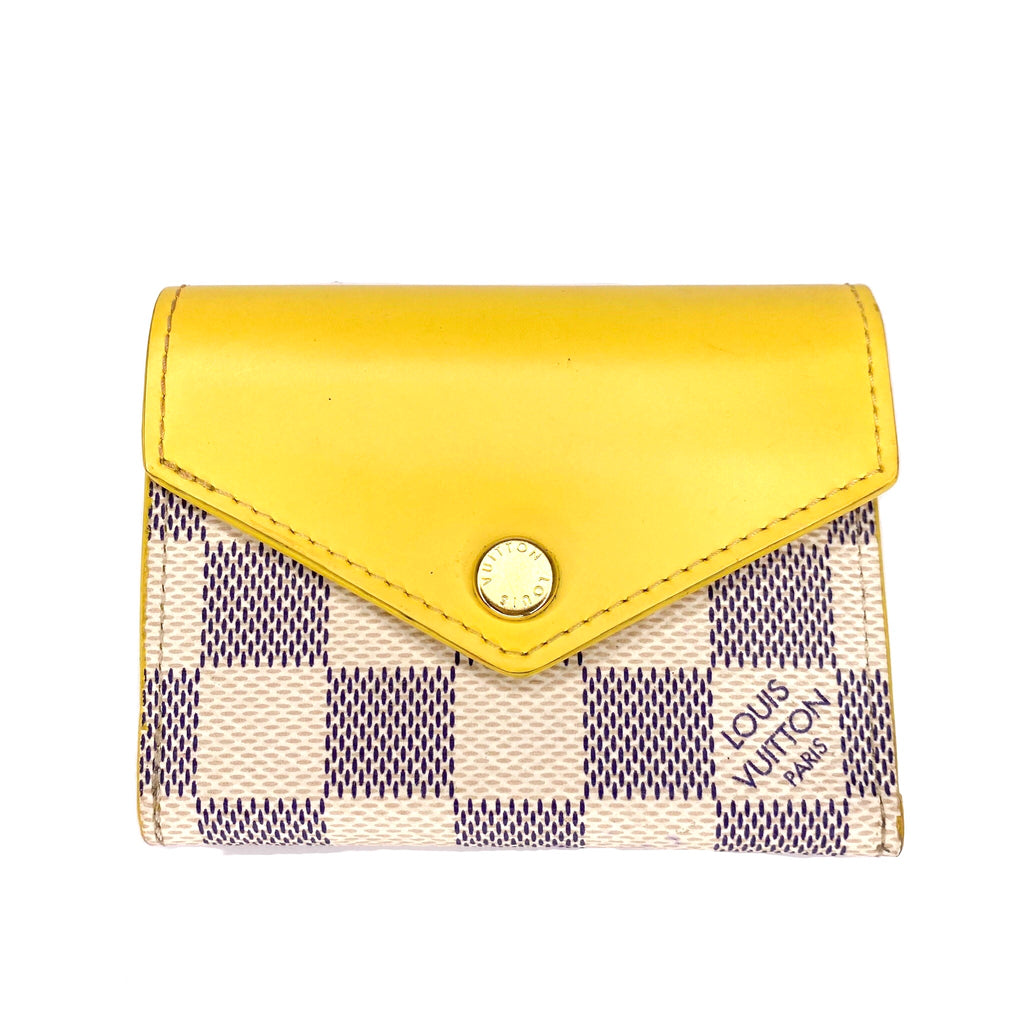 Louis Vuitton Damier Azur Zoe Wallet