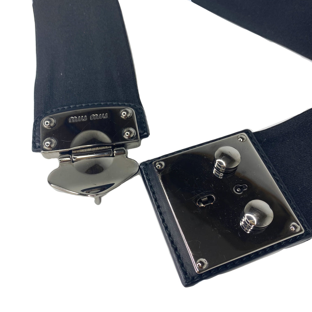 Mui Mui Key Hole Belt
