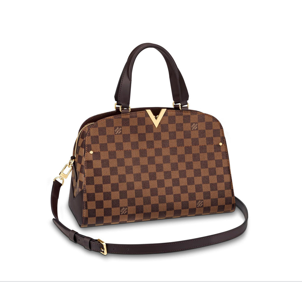 Louis Vuitton Damier Ebene Kensington Bowling Bag