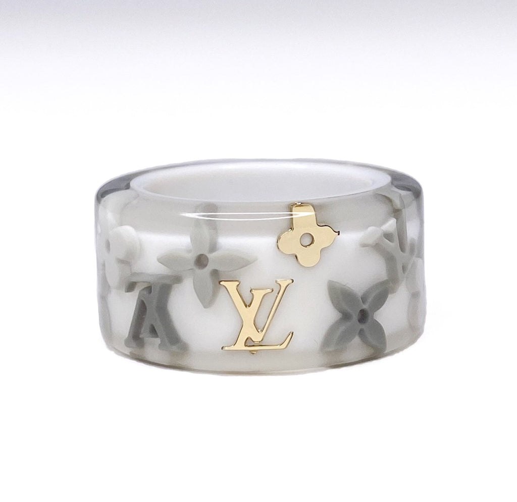 Louis Vuitton Inclusion Ring - White
