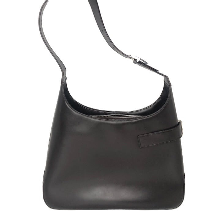 Salvatore Ferragamo Smooth Leather Gancino Medium Hobo