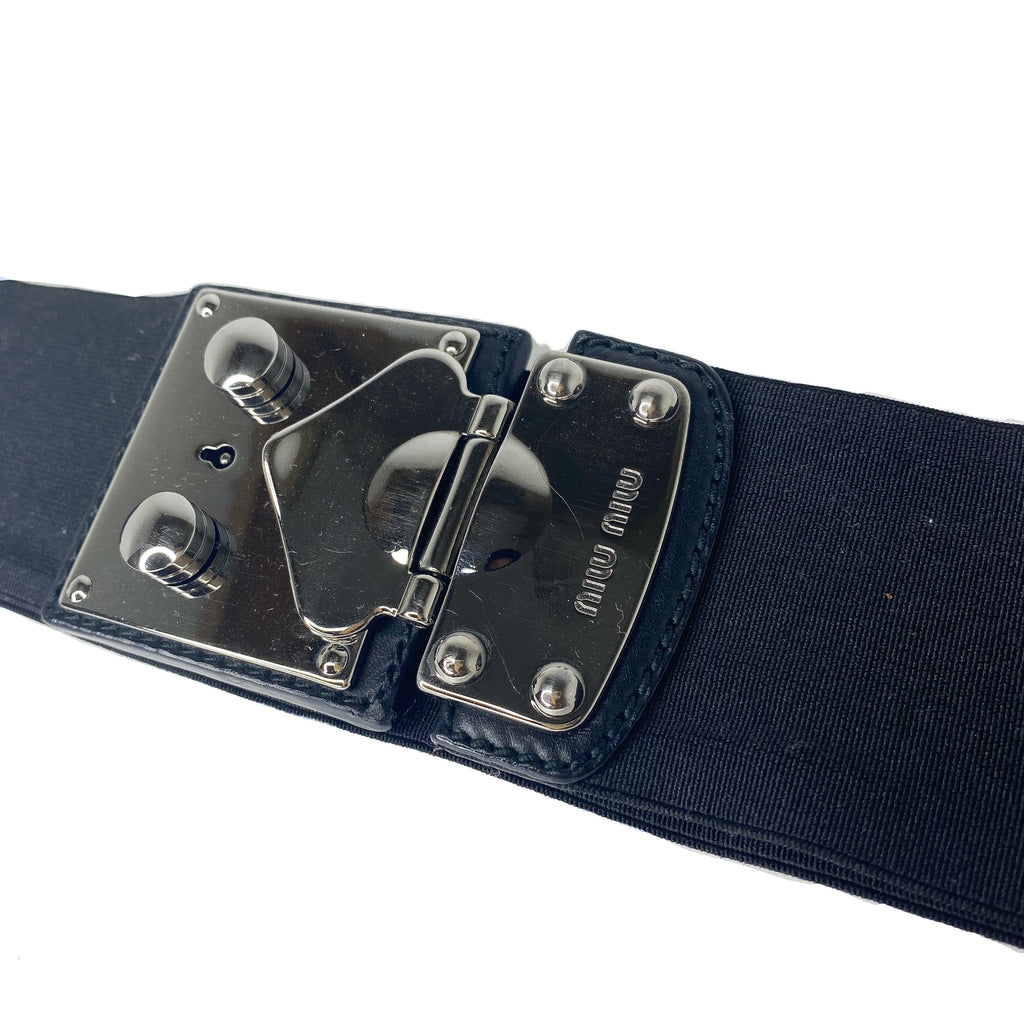 Miu Miu Key Hole Belt