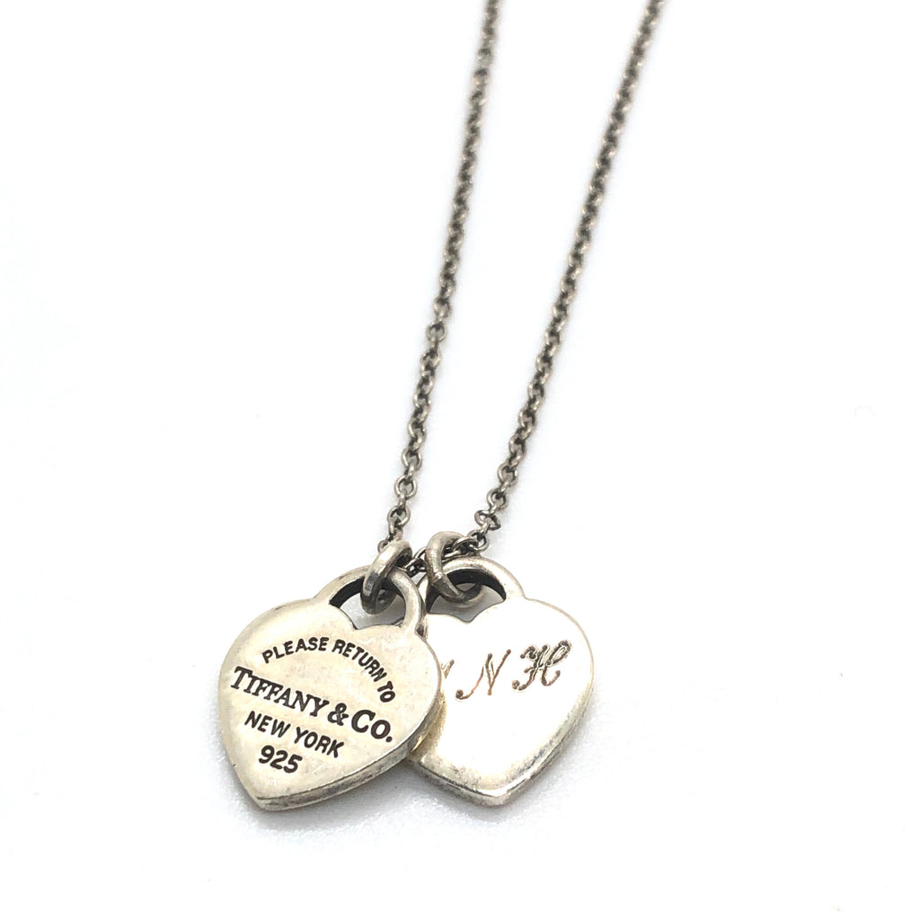 Tiffany & Co Return Heart Tags Pendant Necklace